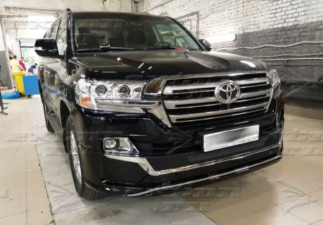 Обвес Executive Lounge Black New Toyota Land Cruiser 200