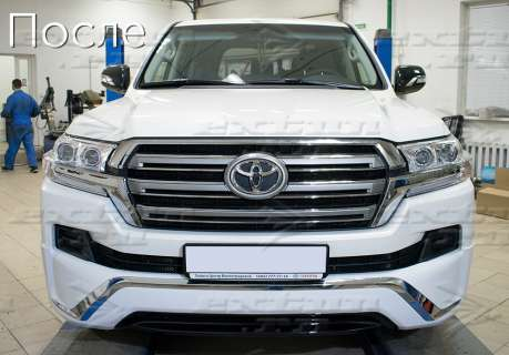 Обвес Executive White Toyota Land Cruiser 200